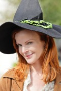 Marcia Cross @ Pottery Barn Kids Halloween Carnival in LA - October 23, 2010 (x30)