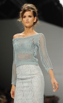 Изабель Гуларт, фото 1130. Izabel Goulart - Ermanno Scervino S/S 2012 Milan, foto 1130