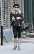 Dakota Fanning - leaving the gym in Downtown Manhattan. December 15, 2011