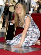Дженнифер Анистон, фото 8630. Jennifer Aniston Inducted into the Hollywood Walk Of Fame - February 22, 2012, foto 8630