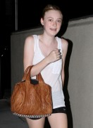 "Dakota Fanning *Leggy Cuteness* ""Late Night Workout"" Hollywood -July 30th 2010- (HQ X13)"