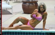 "NXT Kaitlyn/Celeste Bonin: ""Pretty in Pink"" Bikini Photo Shoot (x6 Pics)"