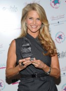 Christie Brinkley receives HBA Global Positively Beautiful Award (2010-09-28)